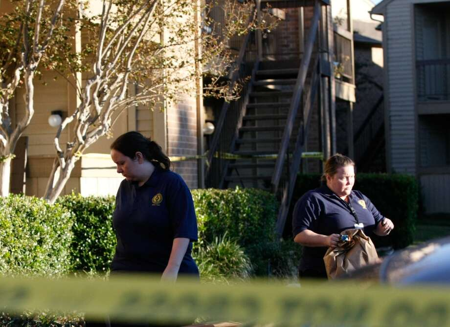 She told authorities that three men who had their faces covered rushed into the bedroom and made demands. Photo: Johnny Hanson, Houston Chronicle