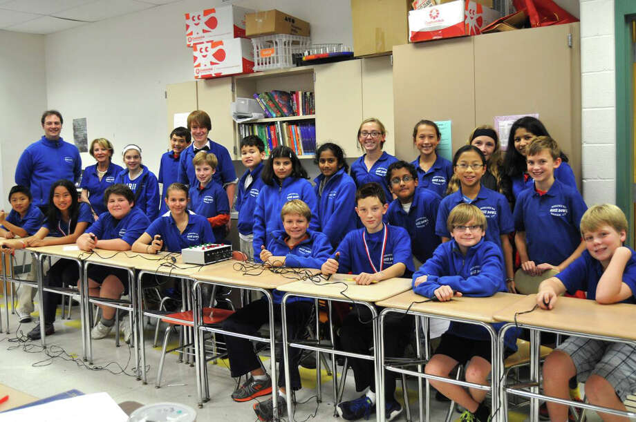 The Middlesex Middle School Quiz Bowl teams recently traveled to Hackensack, N.J., to take part in the third annual Bergen Academies Junior Academic Competition. Photo: Contributed Photo, Contributed / Darien News