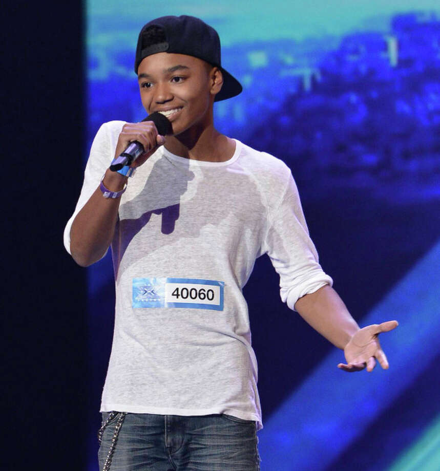THE X FACTOR:  Josh Levi, 15. Hometown: Houston, TX / 1
