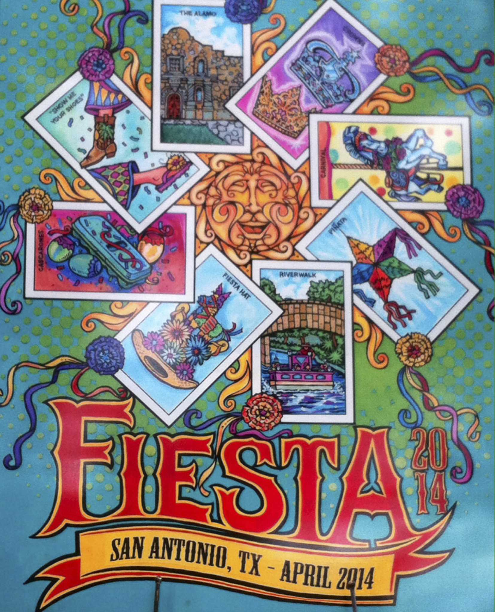 2014 Fiesta Poster Features Loter 237 A San Antonio Express News