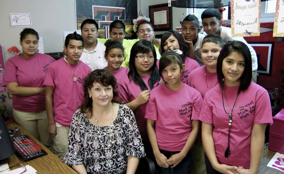 """Mark Twain Middle School students are the subject of """"Skipping Up,"""" a documentary about a dropout prevention program that will be screened Wednesday, Nov. 20. Photo: Courtesy Photo"""