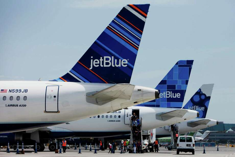 #1: JetBlue's TrueBlue took the top spot in U.S. News & World Report's list of Best Airline Rewards Programs. Photo: Patrick T. Fallon, Bloomberg / © 2013 Bloomberg Finance LP