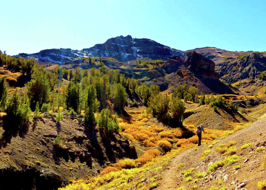 Hiking Leavitt Peak Trail through the Sonora Pass is a colorful experience in October. Photo: Kimberly Kofala
