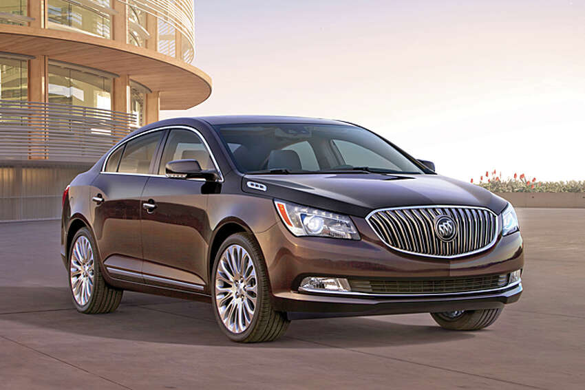 2014 Buick LaCrosse (photo courtesy General Motors Corp.)