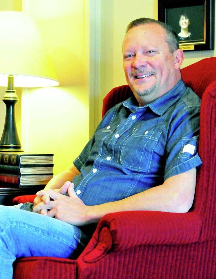 Andy Kelley, 50, has stepped down from his 10-year seat on the Lumberton City Council to run for County Commissioner. Photo: Cassie Smith/@smithcassie