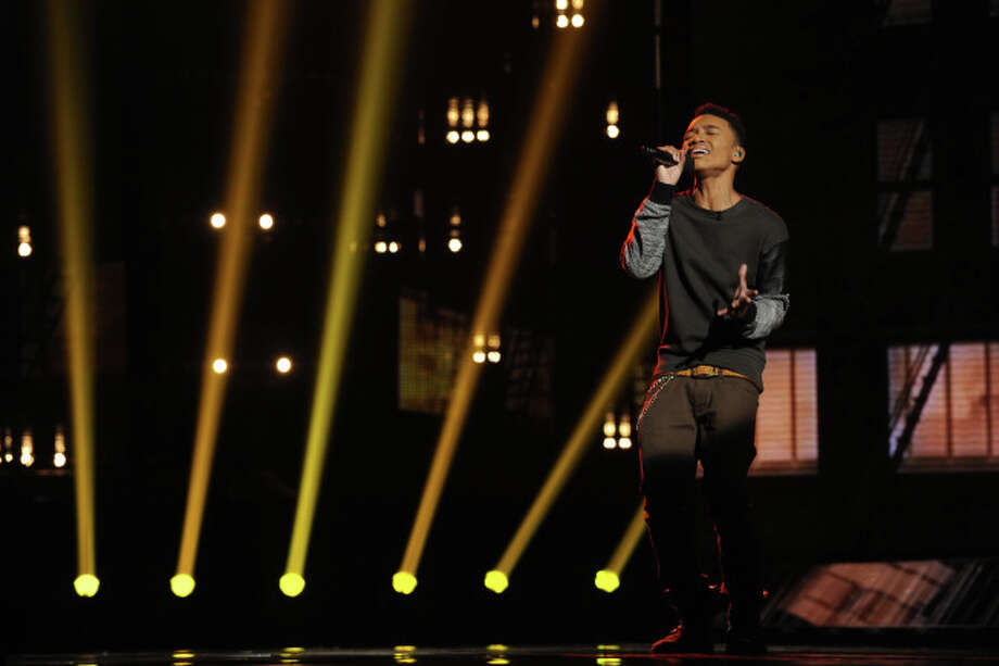 THE X FACTOR: Josh Levi  performs on THE X FACTOR airing Thursday, Nov. 7 (8:00-9:00 PM ET/PT) on FOX.  CR: Ray Mickshaw / FOX.