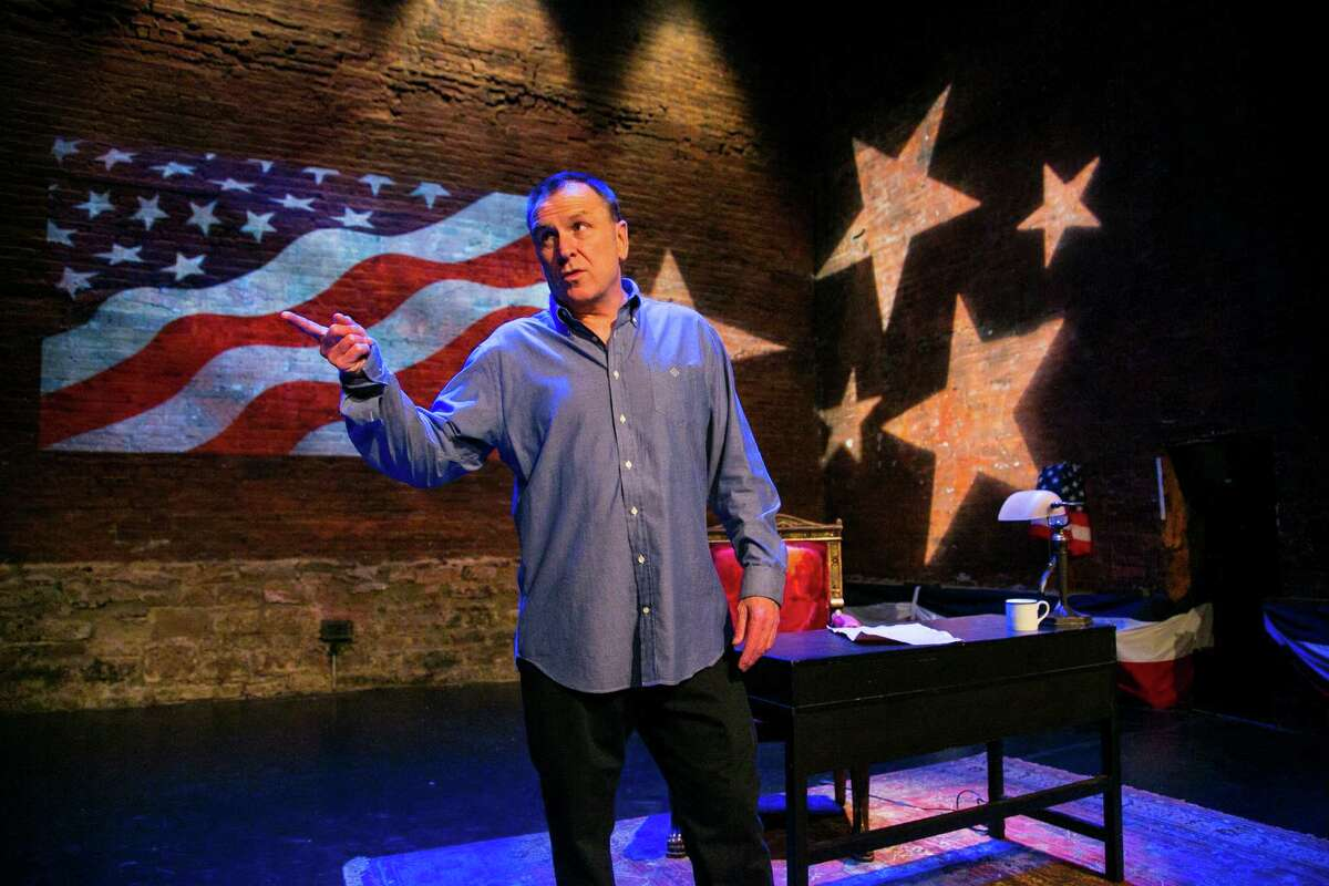 Colin Quinn in Unconstitutional: copyright 2013 (Mike Lavoie)