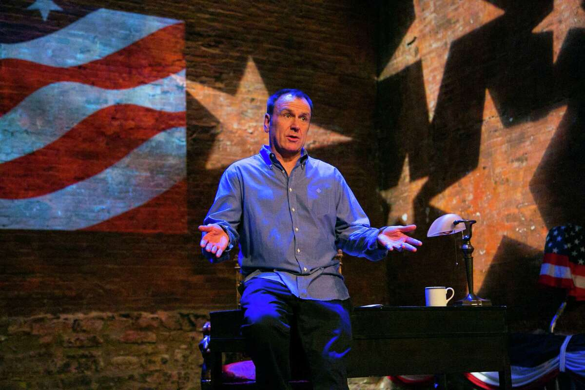 """Colin Quinn will bring his comedy to The Egg on Saturday, Nov. 16, when he performs his one-man show, """"Unconstitutional."""" Quinn tackles 226 years of American Constitution calamities, from predator drones to the Kardashians. He starts off with a recap of May 25, 1787, when 55 delegates in wigs and tights sat down to create a country from scratch. He goes on to review myriad events of interest, as only he can."""