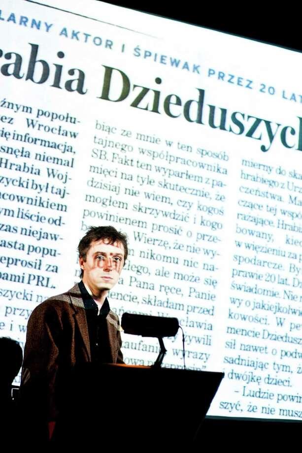 """""""Small Narration"""" (Krzysztof Bielinski)"""
