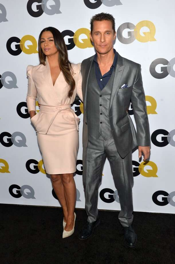 Model Camila Alves McConaughey and actor Matthew McConaughey attend the GQ Men Of The Year Party at The Ebell Club of Los Angeles on November 12, 2013 in Los Angeles, California. Photo: Michael Buckner, Getty Images For GQ