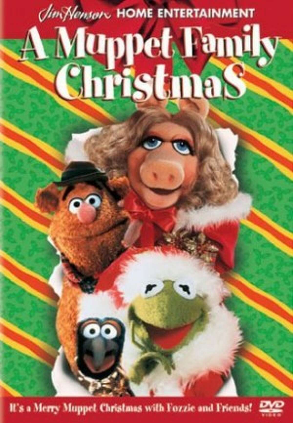 A Muppet Family Christmas DVD
