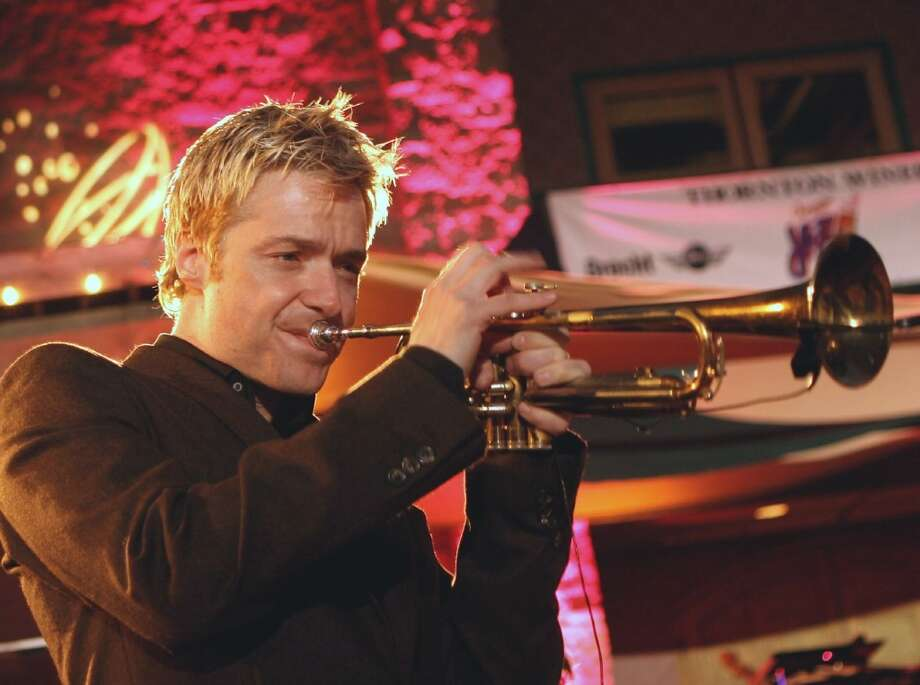 See jazz trumpeter Chris Botti at Proctors on Saturday, November 16th at 8:00.  (Photo: wikipedia.org) Photo: Picasa 3.0