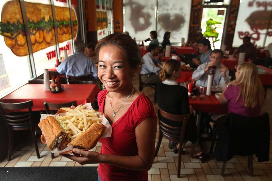 Where:  The Cajun Stop, 2130 Jefferson; 713-222-8333  What it is: Undertaker Challenge  The challenge: You must eat a fully dressed extra large Surf & Turf Po-Boy and a large order fries with gravy and cheese in less than 45 minutes. No bathroom breaks.  The cost: $37  The reward: If you finish it, the meal is free. You also get a  photo and a T-shirt and a $15 gift card for the restaurant. Photo: Mayra Beltran, Chronicle