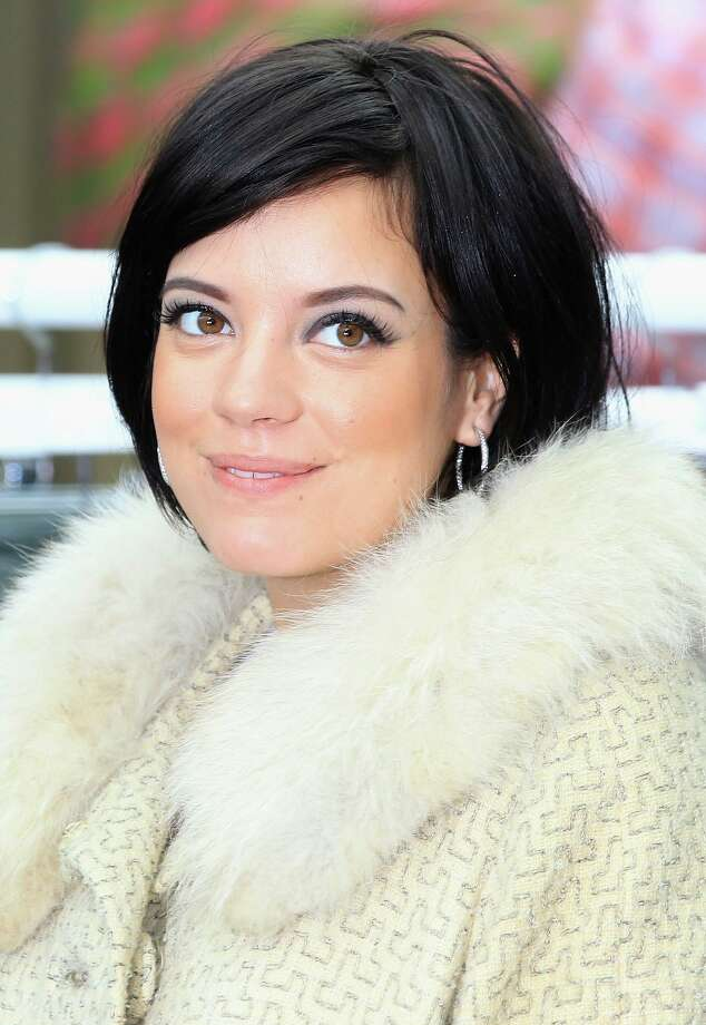 No. 8: Lily(Lily Allen)  Origin: English  Meaning: Lily the flower Photo: Chris Jackson, Getty Images For Westfield / ONLINE_YES