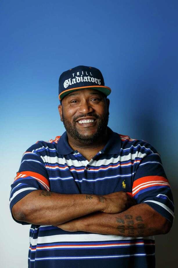 Houston hip-hop artist Bun B, aka Bernard Freeman, will perform with the Houston Symphony at the Concert Against Hate. Photo: Michael Paulsen, Staff / © 2013 Houston Chronicle
