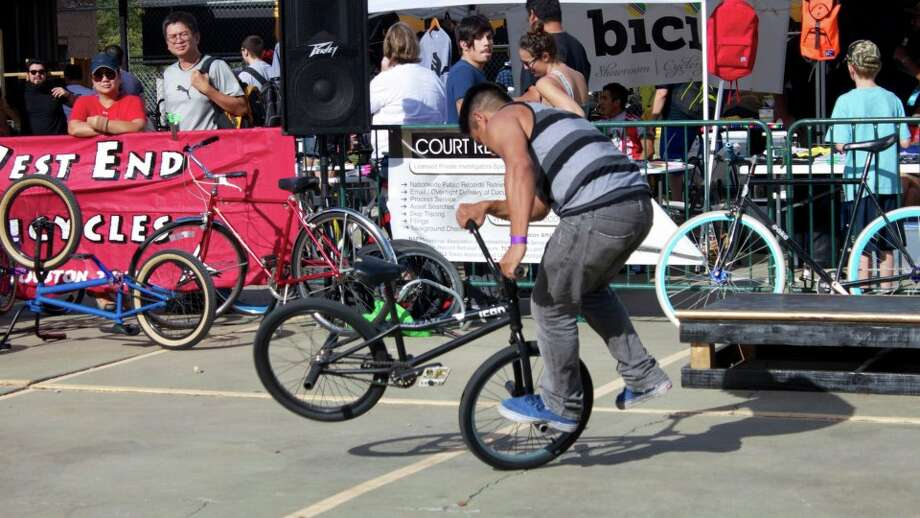 Cyclists of all ages and skill-sets are set to descend the streets of downtown Houston on Saturday, November 16 from 10 a.m.   6:00 p.m. as Black Gold Cycling, Neue Creative, The Byke Project and the Downtown District team up to host the second annual HTX BIKE FEST   a community bike event at Market Square Park. Photo: Courtesy Photo
