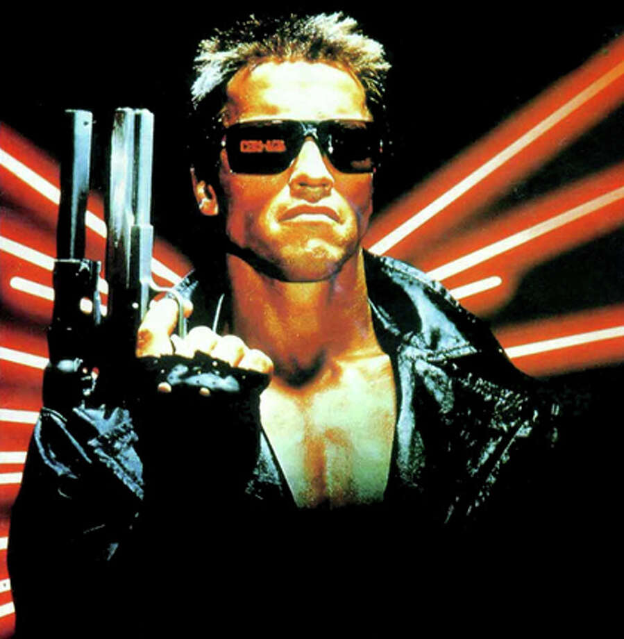 The TerminatorArnold Schwarzenegger starred as the  cyborg with a mission in this 1985 film. It went on to be one of the most successful sci-fi franchises of all time.