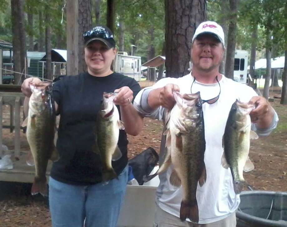2 of Us Couples Tournament Derek & Tammy Mong 16.57.  Men's big bass 5.76. Ladie's big bass 3.62.