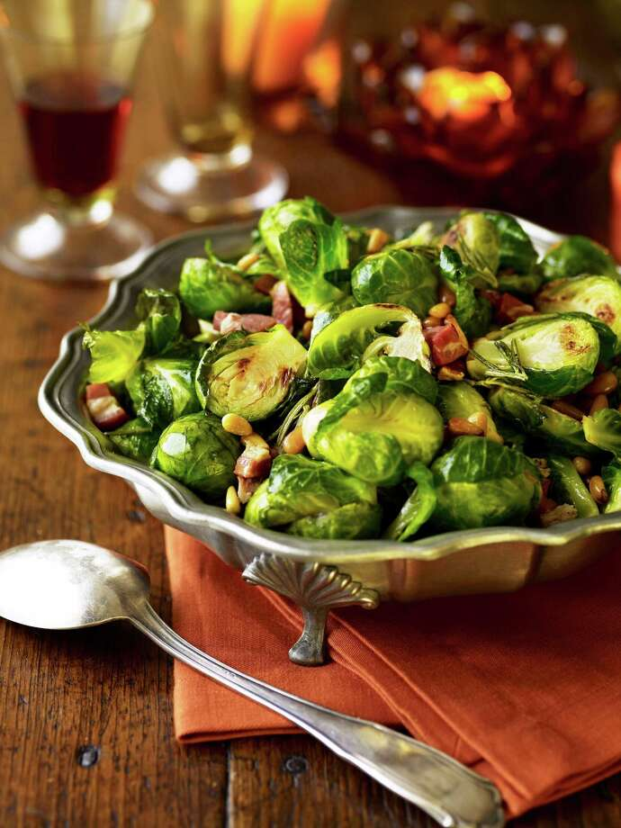 Brussels Sprouts with Pancetta and Rosemary From: Good Housekeeping For sweet, delicious sprouts, simply avoid overcooking. We briefly blanch the sprouts early in the day and sauté them to reheat and add flavorings just before serving. Photo: Kate Mathis / handout web