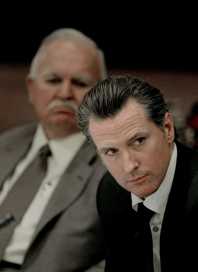 Gavin Newsom wrote letters to school system heads. Photo: Michael Macor, The Chronicle