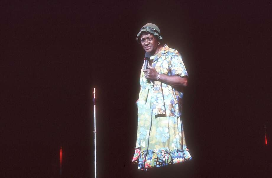 "Comedian Jackie ""Moms"" Mabley from around 1970. Photo: Michael Ochs Archives, HBO"
