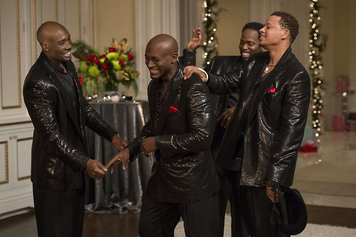 (L to R) Lance (MORRIS CHESTNUT), Harper (TAYE DIGGS), Julian (HAROLD PERRINEAU) and Quentin (TERRENCE HOWARD) share a laugh in