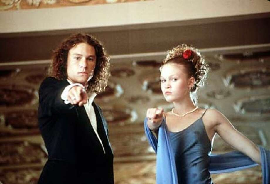 10 Things I Hate About YouThis 1999 teen comedy starred Julia Stiles and a then unknown Heath Ledger.