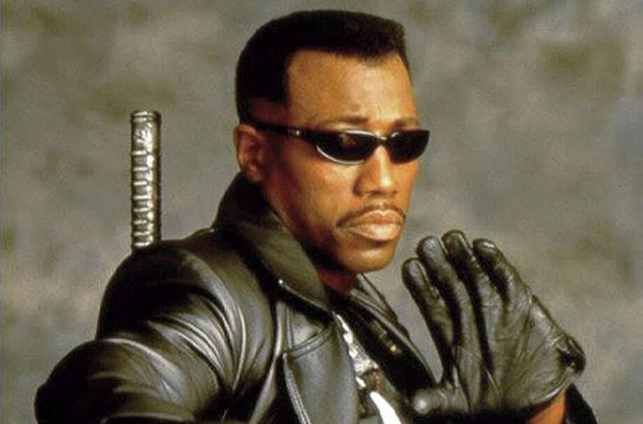 BladeThe 1998 film starring Wesley Snipes as a half-vampire vampire hunter spun off two sequels.
