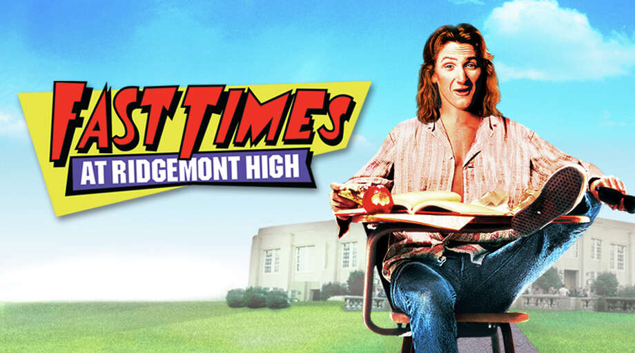 Fast Times at Ridgemont High  The 1982 film was an instant teen classic. It starred Sean Penn, Jennifer Jason Leigh, Judge Reinhold, Phoebe Cates and Forest Whitaker, Eric Stoltz, Anthony Edwards and Nicholas Cage all had bit roles.