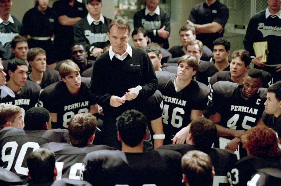 Friday Night LightsThe 2004 film was based on a nonfiction book about the 1988 Permian Panthers football team by H. G. Bissinger. It starred Billy Bob Thornton as the team's coach.