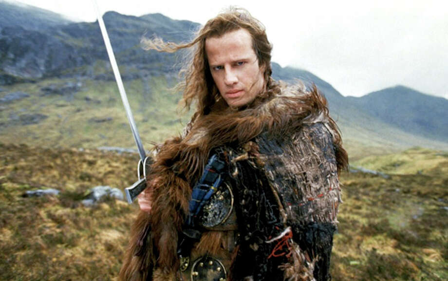 The HighlanderThe 1986 cult classic film starred Christopher Lambert and Sean Connery as immortal warriors.