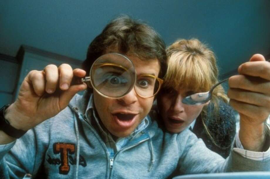 "Rick Moranis is one of many celebrities headed to San Antonio for the 2018 Alamo City Comic Con. He is shown here in the 1989 film ""Honey, I Shrunk the Kids."""