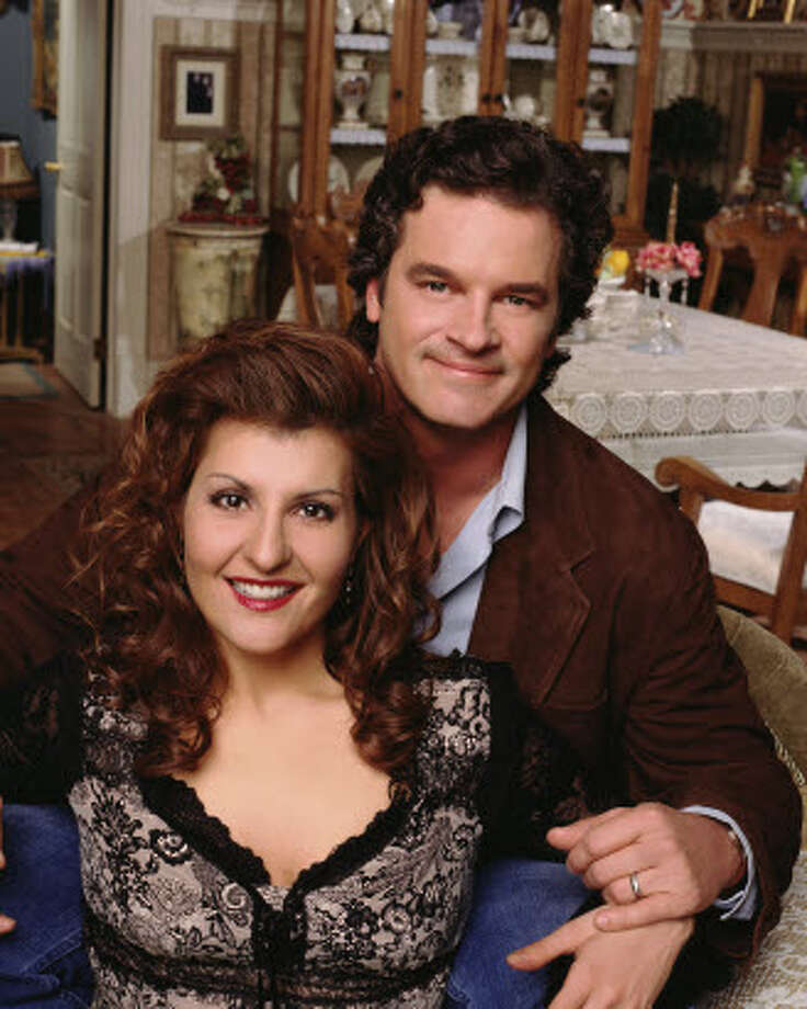 My Big Fat Greek WeddingThe 2003 CBS sit-com picked up where the film left off, and also starred Nia Vardalos, but replaced John Corbett with Steven Eckholdt. The series was canceled after only 7 episodes.