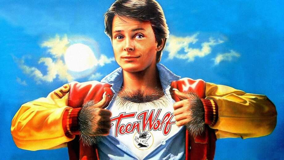 Teen Wolf  Michael J. Fox starred as the teenager who discovers that he is actually a werewolf in this 1985 comedy.