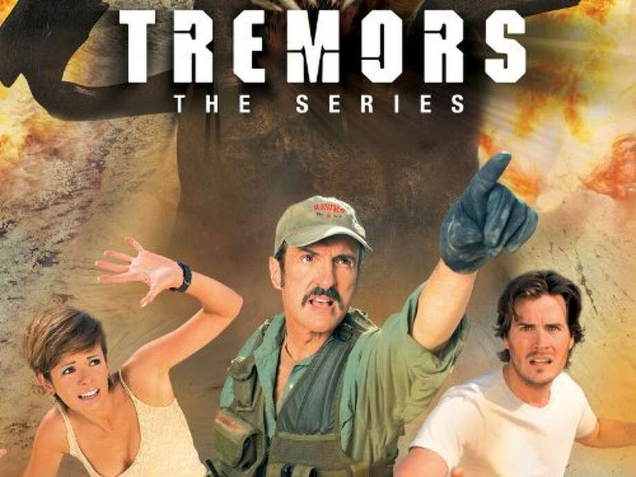 "Tremors  The 2003 Sci Fi Channel spin-off picked up where the third movie left off. It co-starred Dean Norris -- better known as Hank Schrader on ""Breaking Bad."""