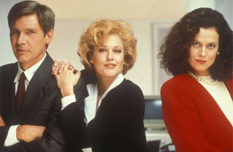 Working Girl  Melanie Griffith, Harrison Ford and Sigourney Weaver starred in this 1988 Mike Nichols romantic comedy.