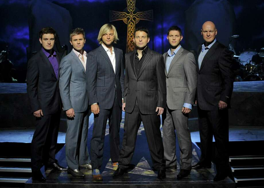 Celtic Thunder brings its distinctive sound back to the Majestic Theatre on Tuesday. Photo: Courtesy Photo