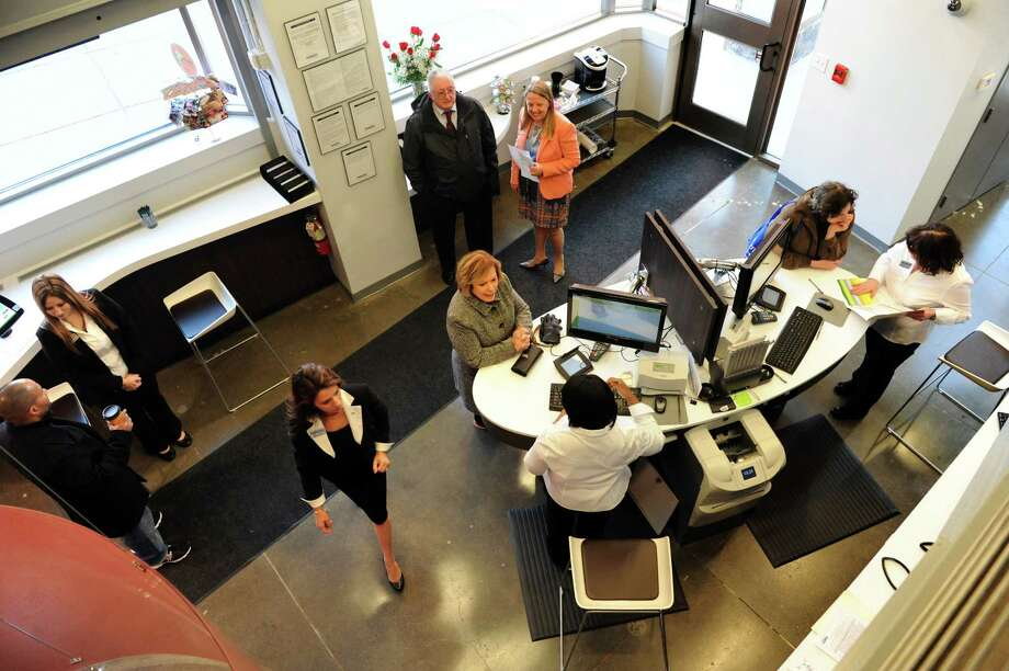 Boutique atmosphere in Pioneer Bank's new downtown branch on Wednesday, Nov. 13, 2013, in Albany, N.Y. (Cindy Schultz / Times Union) Photo: Cindy Schultz / 00024625A