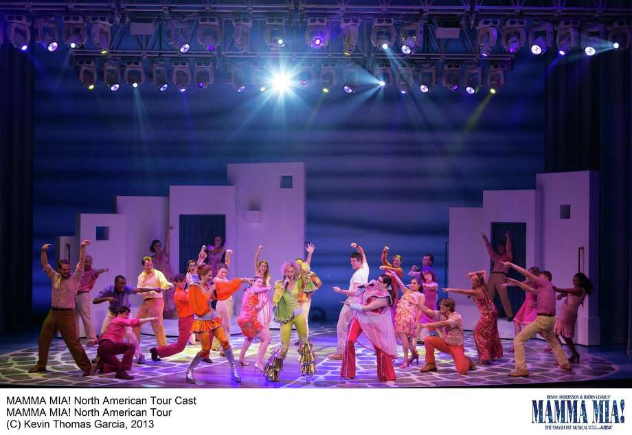 "The new national tour of the ABBA musical ""Mamma Mia!"" will be playing the Shubert Theater in New Haven from Friday, Nov. 22 through Sunday, Nov. 24. Photo: Contributed Photo / Connecticut Post Contributed"