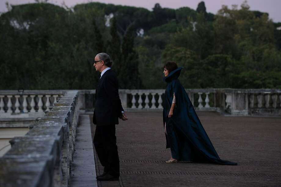 "Toni Servillo (left) and Sabrina Ferilli in ""The Great Beauty."" Photo: Janus Films"