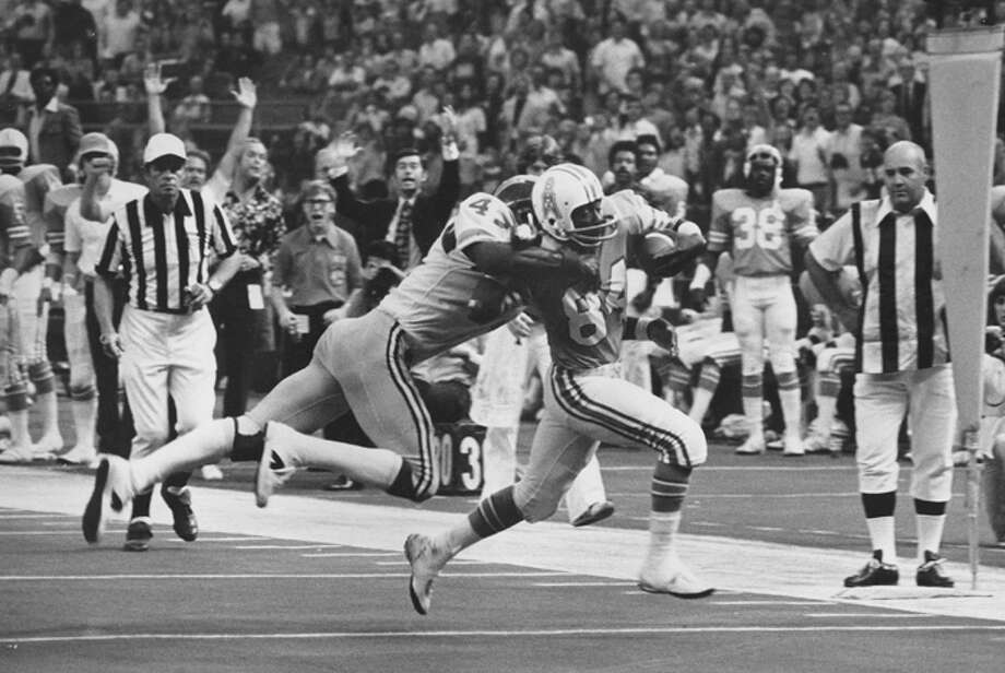 "Billy '""White Shoes"" Johnson of the Houston Oilers Nov. 15, 1975.  (Photo by Sporting News/Sporting News via Getty Images) Photo: Sporting News Archive, Sporting News Via Getty Images / www.iconsportsmedia.com"