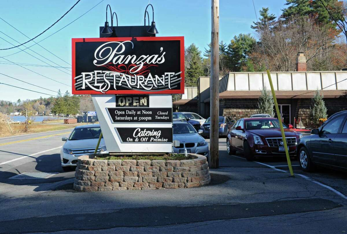 Panza's restaurant on Saratoga Lake celebrates their 75th anniversary with a free lunch for the public on Wednesday, Nov. 13, 2013 in Saratoga Springs, N.Y. (Lori Van Buren / Times Union)