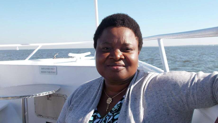 Benoite Vodounou is excited to work with disabled clients each day at Forgotten Angels.