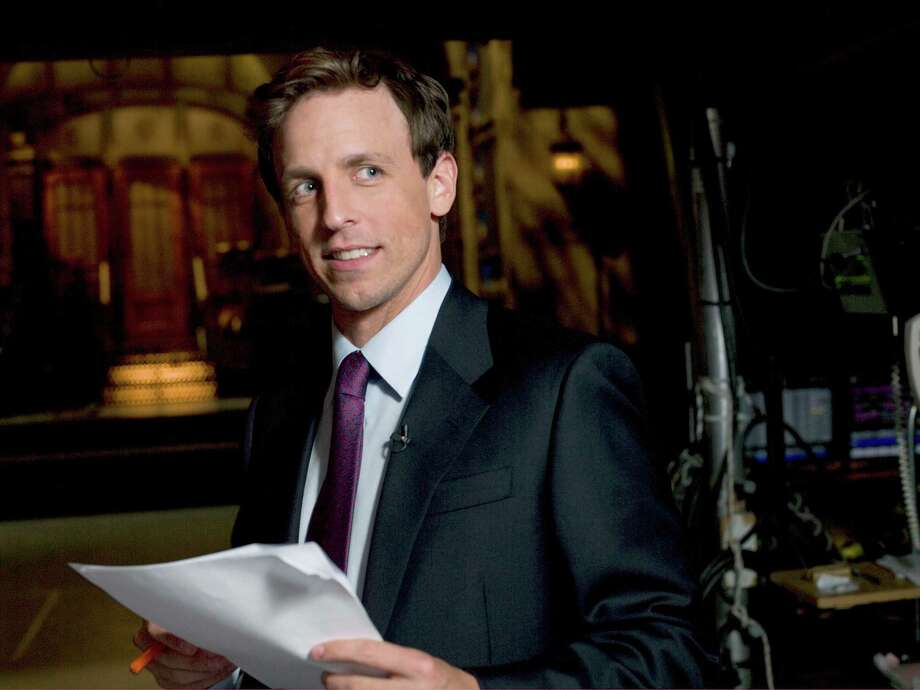 "Seth Meyers, former head writer and Weekend Update host on ""Saturday Night Live,"" will make his debut as host of ""Late Night With Seth Meyers"" in February. Photo: NBC Universal"