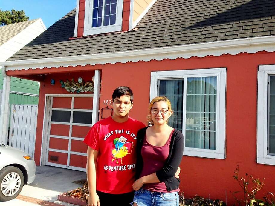 Melissa Maldonado and her boyfriend, who asked not to be named, recently moved into this South San Francisco home, only to find out that the woman renting it to them was not the owner. Photo: Kurtis Alexander, The Chronicle