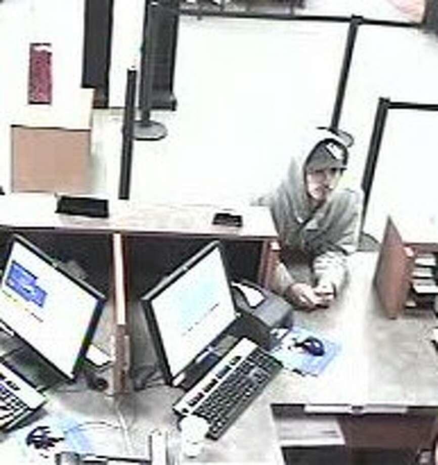 Surveillance footage captures images of robber who struck U.S. Bank in Kent Nov. 9. Photo: FBI