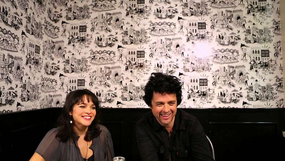Norah Jones and BIllie Joe Armstrong Photo: Facebook