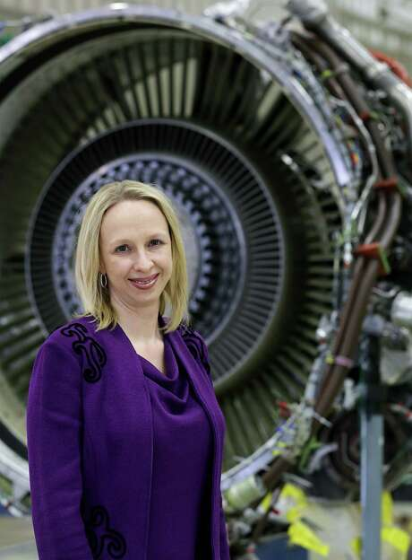 """Amy Gowder, vice president and general manager of Lockheed Martin operations in San Antonio and Montreal, was recently named one of """"40 under 40"""" in an industry magazine. Photo: Bob Owen / San Antonio Express-News"""