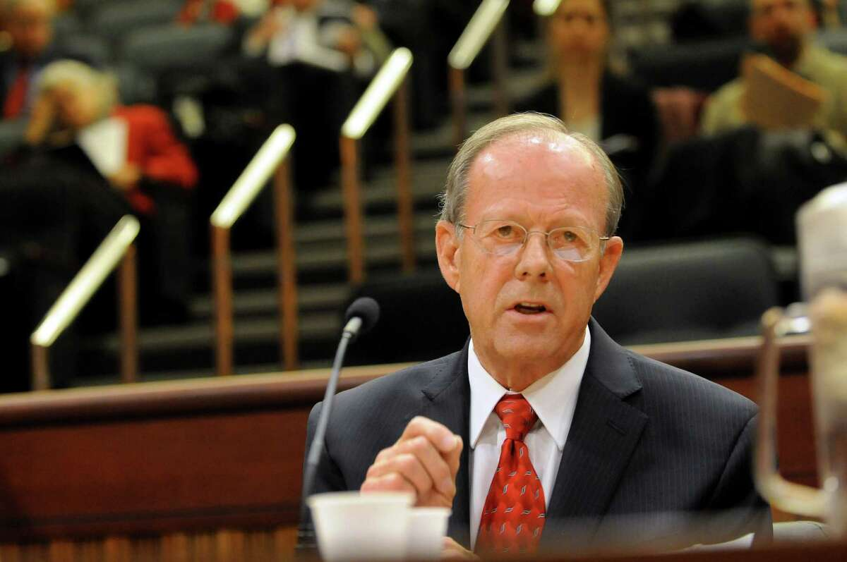 John Yagielski of the Education Conference Board speaks during a public hearing on The Regents Reform Agenda on Wednesday, Nov. 13, 2013, at the Legislative Office Building in Albany, N.Y. (Cindy Schultz / Times Union)