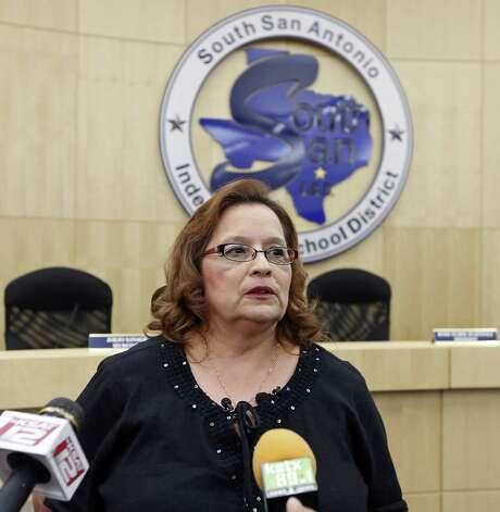 Rose Marie Martinez was deposed Tuesday as South San Antonio ISD's board president.